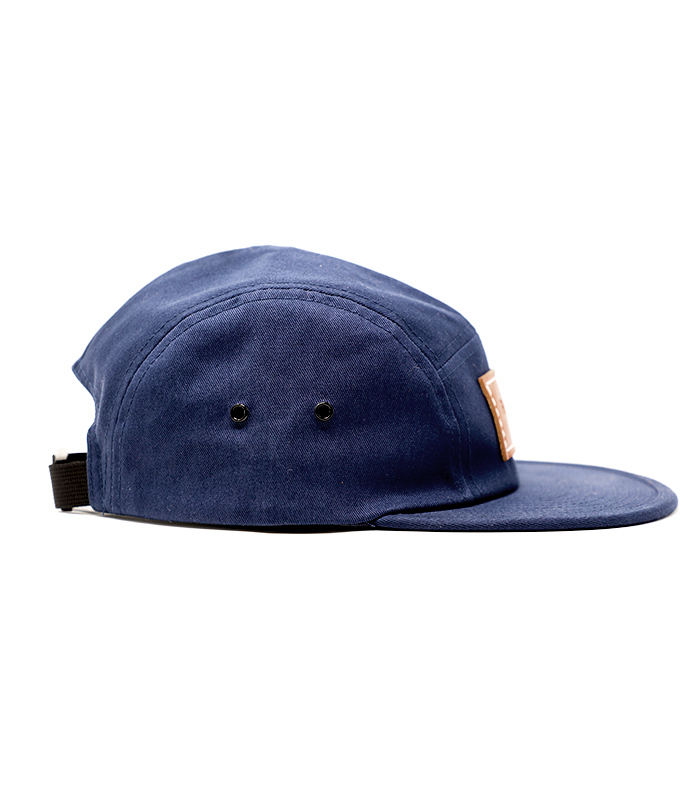 Navy Camper 5 Panel Hat