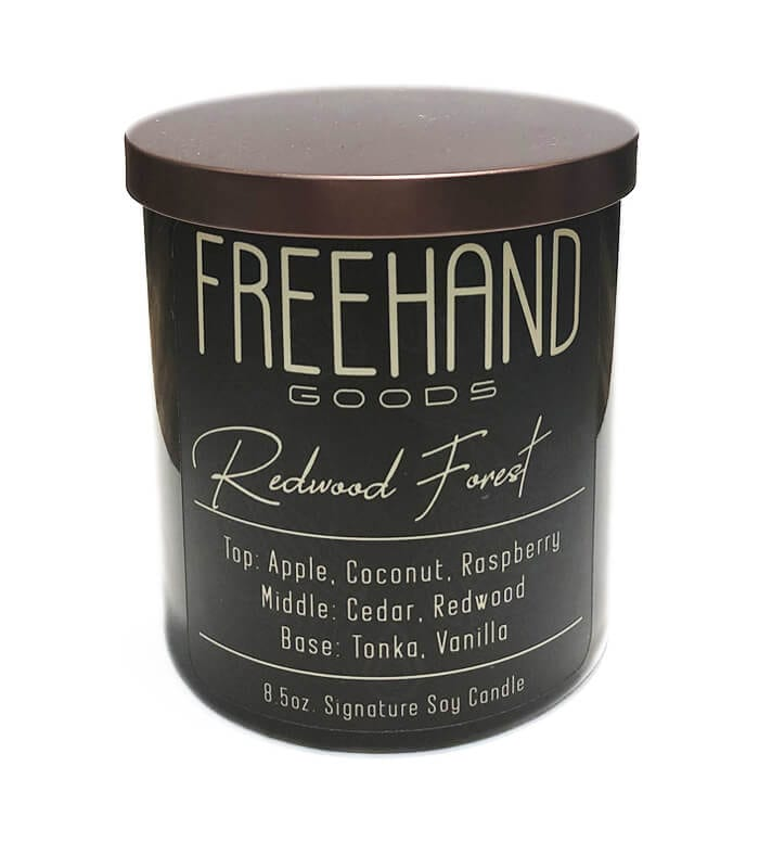 Redwood Forest Signature Soy Candle