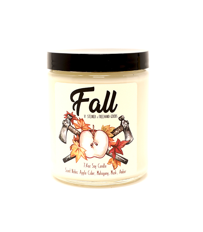 Fall Seasonal Soy Candle