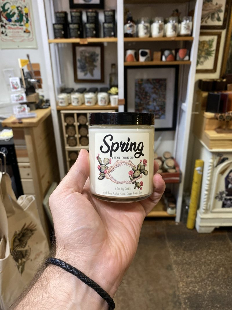 Spring Seasonal Soy Candle