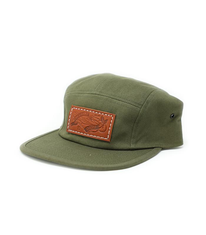 Camper 5 Panel Hat Olive