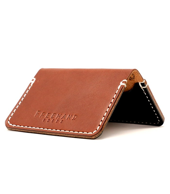 Chestnut Mills Leather Cardholder
