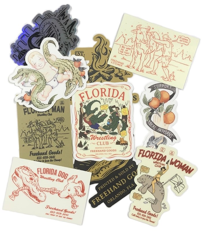 Florida Family Sticker Pack