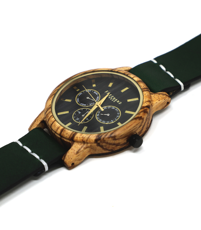 Emerald Summerlin Leather Watch
