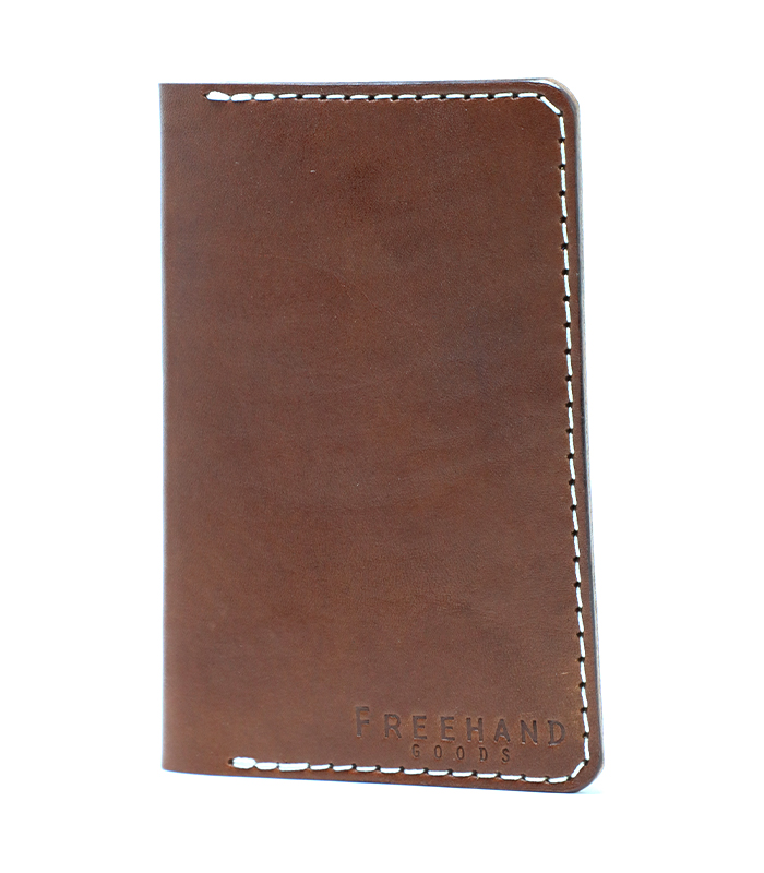 Fairbanks Leather Passport Wallet