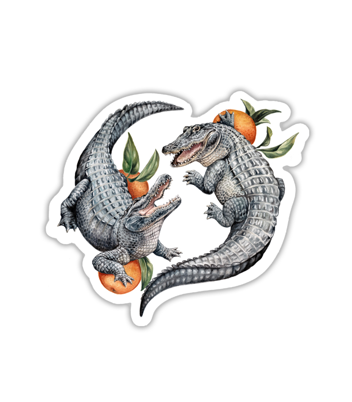 Fighting Gators Sticker