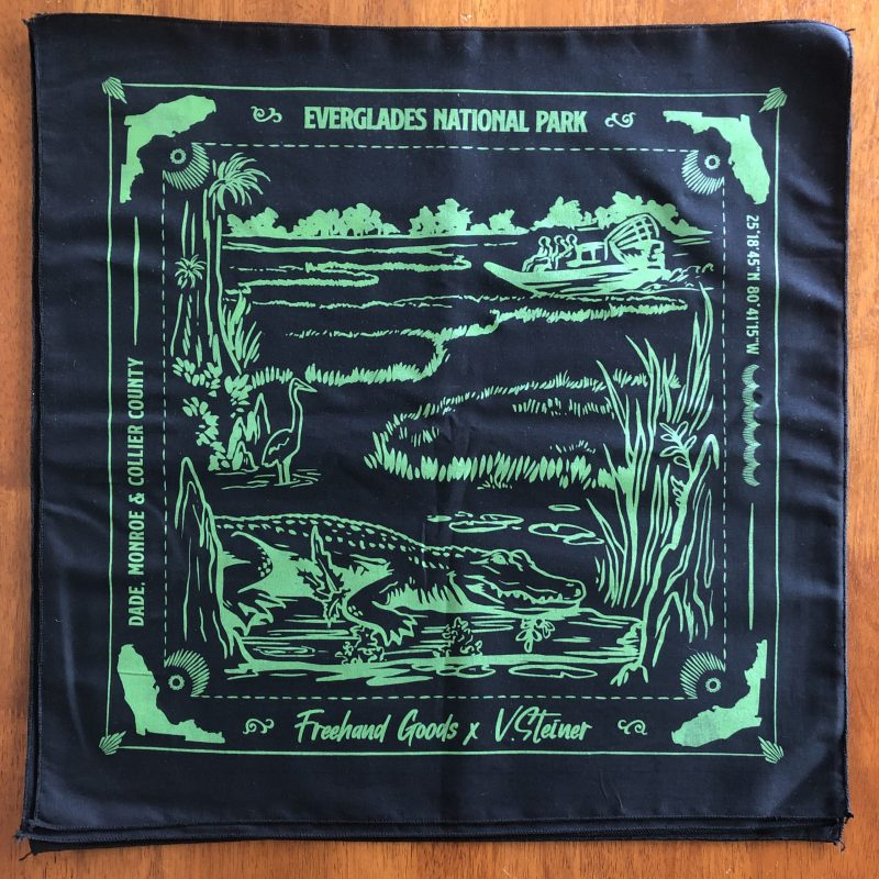 Everglades Travel Bandana