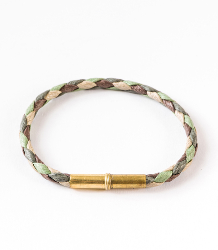 Tres Cuervos Waxed Canvas Bracelet