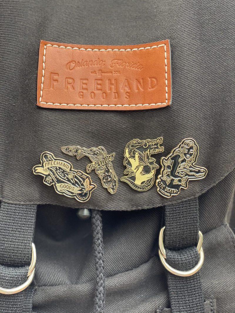 Freehand Goods Enamel Pins