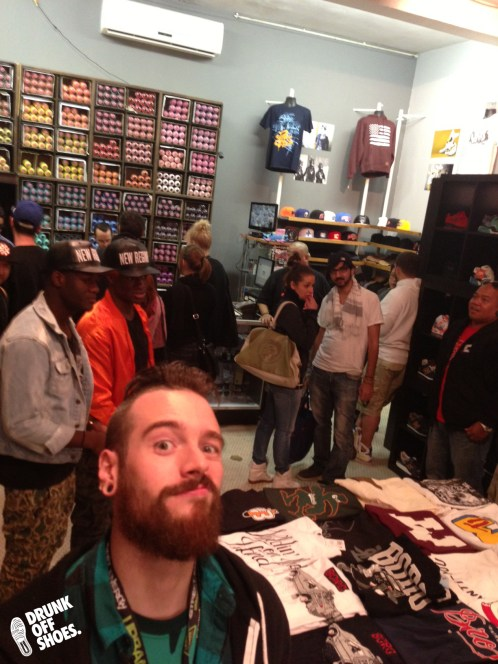 Making faces and having a good time at SubV in Montreal