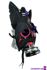 "Air Jordan ""Raptor 7s"" Gas Mask by Freehand Profit"