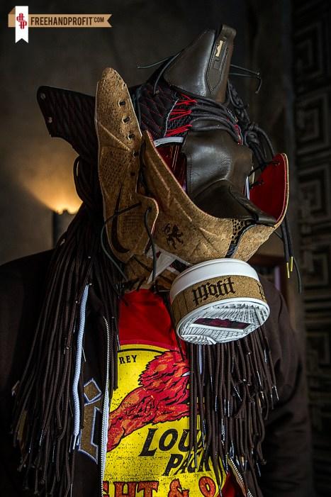 Nike Lebron X (10) Cork Gas Mask by Freehand Profit