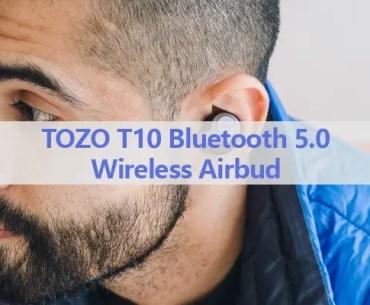 TOZO T10 Bluetooth 5.0 Wireless Airbud