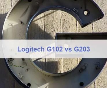 Logitech G102 vs G203