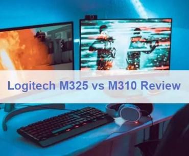 Logitech M325 vs M310