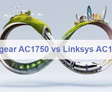 Netgear AC1750 vs Linksys AC1750