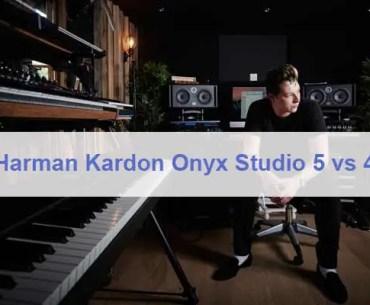 Harman Kardon Onyx Studio 5 vs 4