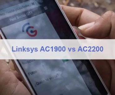 Linksys AC1900 vs AC2200