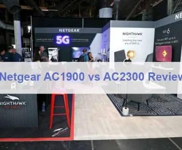 Netgear AC1900 vs AC2300