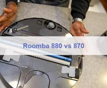 Roomba 880 vs 870