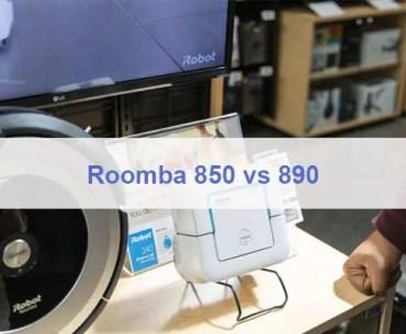 Roomba 850 vs 890