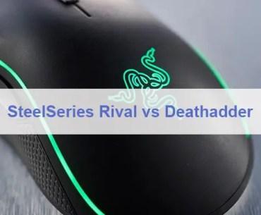 SteelSeries Rival vs Deathadder