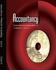 Financial Accounting 2 Class 11th Accountancy NCERT Book Latest New Edition 2018-19 PDF Download Free