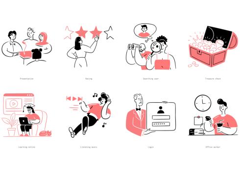 Streamline Lab illustrations