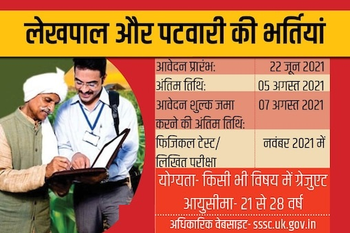 Patwari & Lekhpal Vacancy Free Job search