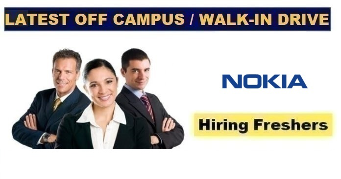 Nokia Fresher Recruitment 2021 fjs