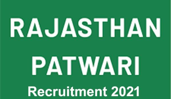 Rajasthani Patwari Bharti 2021 Free Job search