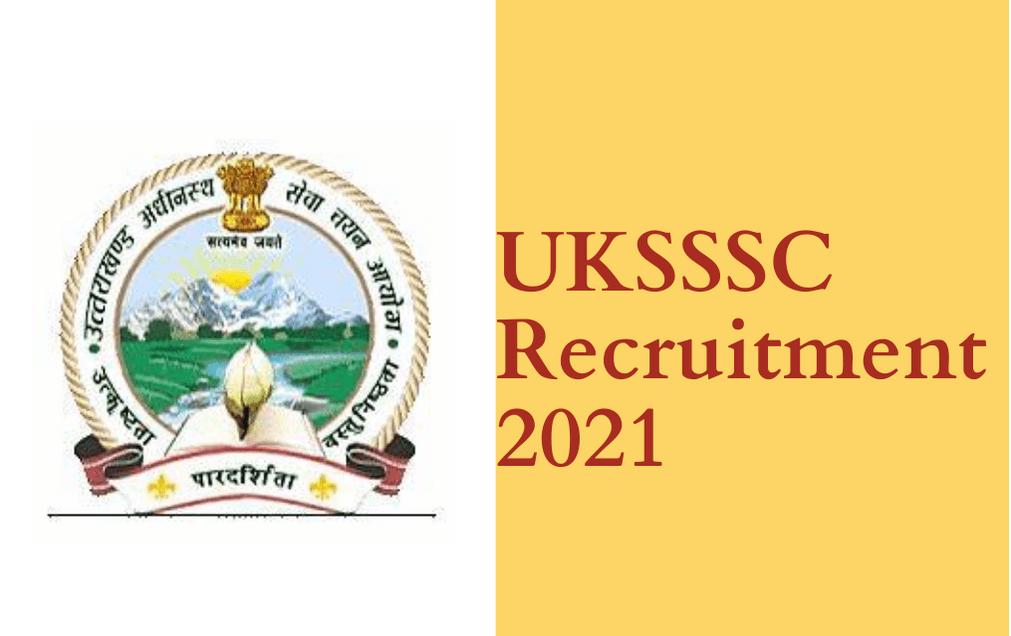 Uttarakhand SSC 2021 Free Job Search