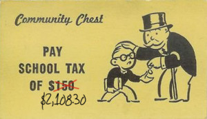 Monopoly school tax update