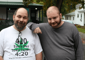 Rich Paul, fresh out of jail with Chris Cantwell