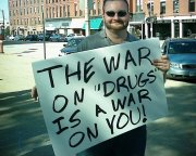 Previously a libertarian against the war on drugs, he's now for prohibition.
