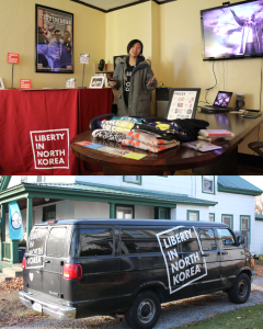 Liberty in North Korea Presents at the Keene Activist Center