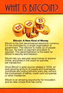 Bitcoin Flyer 2016 Front