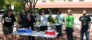Beer Pong Railroad Square