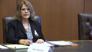 Representative Barbara Biggie of Milford
