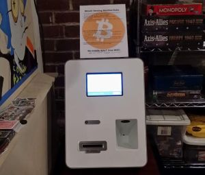 Area 23's Bitcoin Vending Machine