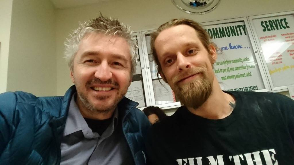 Virgil Vaduva and Ademo Freeman, After Ademo's Release!