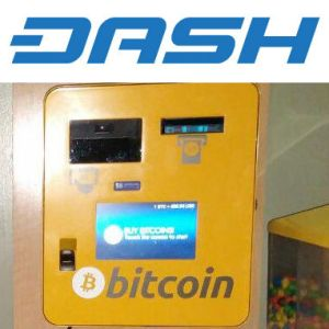 Bitcoin Vending Machine Adds DASH!