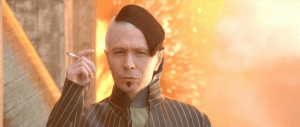 "Yes, Zorg coolly walks away from an explosion while smoking.  Valerian's ""commander"" cowardly orders another man to press a button destroying an entire planet.  No contest who is the badder-ass."