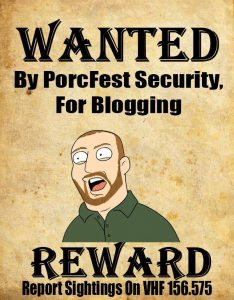 Chris Cantwell WANTED Porcfest 2014