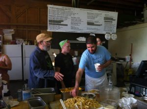 Mandrik's Epic Food Service Operation at Porcfest 2013