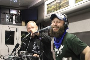 Ernest Hancock and Will Coley Broadcasting from Shirefest 2017