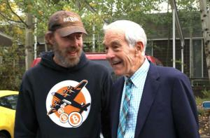 Derrick Slopey and Ron Paul at the Nexus Conference