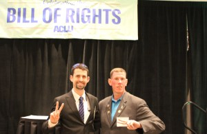 FK Bloggers Ian and Darryl at the 2018 NH ACLU Bill of Rights Dinner
