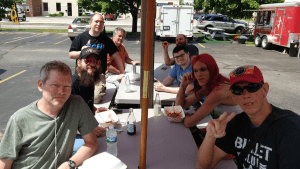 The Keene Crypto Network Meetup Group at Hot Hogs