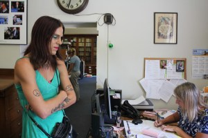 Aria DiMezzo files for Cheshire County Sheriff as a Libertarian